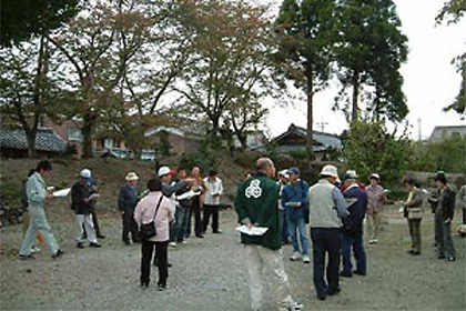 姉川の合戦跡散策