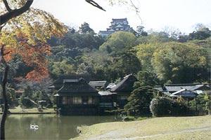 彦根城 玄宮園で虫の音を聞く会