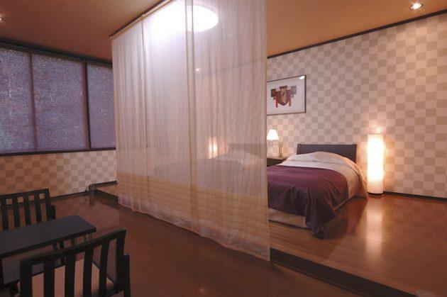 和洋室ツインベット特別室(洋室15畳+和室8畳)