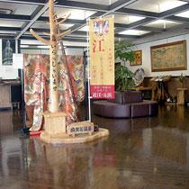 寬敞的大廳十分開闊,可以舒適地放鬆歇息。